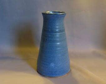 Contemporary blue vase