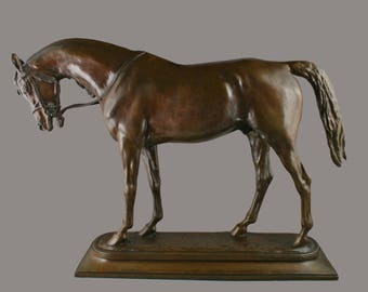 Bronze horse sculpture by A.P.Proctor