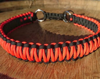 Dog collar King Cobra Paracord