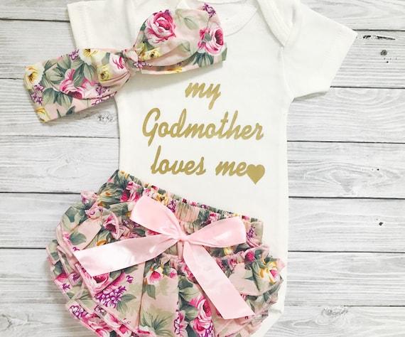 goddaughter gift my godmother loves me baby shower gift, Baby shower invitation