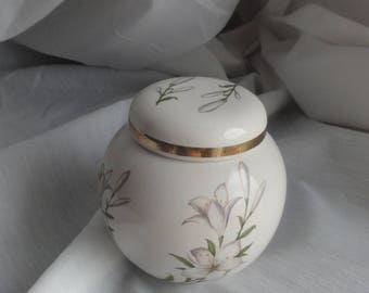 Arthur Wood 'Lily Flower' Ironstone Ginger Jar