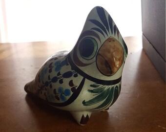 Ceramic Hand Painted Art Deco Bird