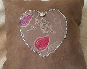 Loveheart cushion