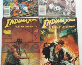 Vintage Indiana Jones Comics Lot