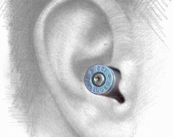 9mm Nickel brass earplugs