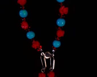 Vintage Turquoise bracelet and earing set