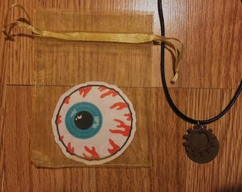 Clock Gear necklace Set / Steam punk