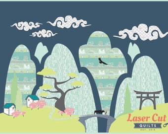 Huangshan Province - Applique Quilt Pattern