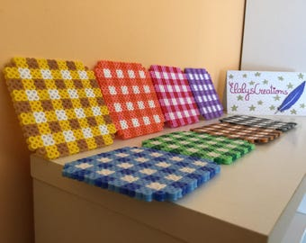 Colorful coasters (8)