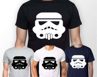 Men's Star Wars Imperial Shadow Trooper T-Shirt, Crew Neck - Original Design