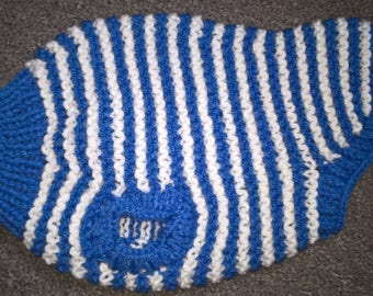 Hand Knit Dog Coat for a Small Dog