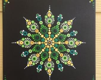 original mandalas pointillism