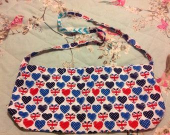 Union Jack Heart Bag