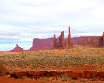 Monument Valley - Pastel
