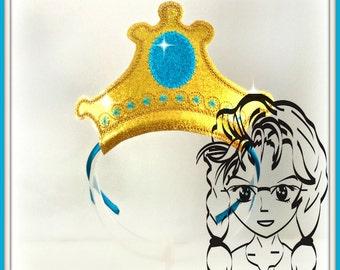 ARaBIAN PRiNCESS CRoWN ~ In The Hoop Headband ~ Downloadable DiGiTaL Machine Embroidery Design by Carrie