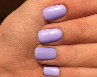 Lilac nail wraps, Lavender nail wraps, light purple colored nails, nail polish wraps,  pale purple nail wraps, nail wraps
