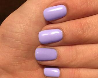 Lilac nail wraps, Lavender nail wraps, custom colored nails, nail polish wraps, Light Purple nail wraps, pale purple nail wraps, nail wraps