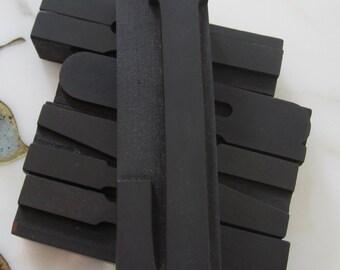 """5"""" Letter L Antique Letterpress Wood Type Printers Block"""