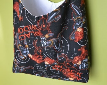Black Widow Hobo Bag