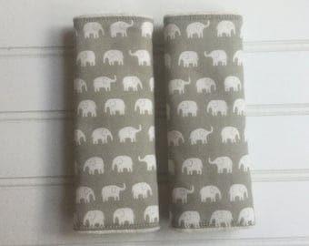 Elephant car seat belt covers