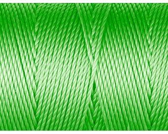 Neon Green C-Lon Beading Cord 92 Yards