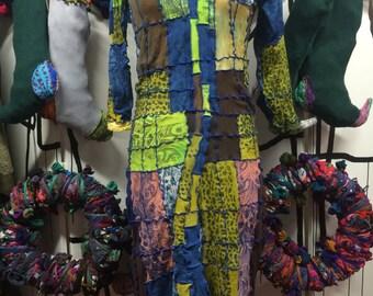 Arlechino Patchwork Dress XL