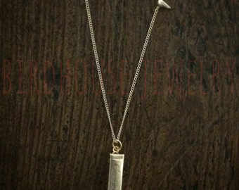 Birdhouse Jewelry- Harmonica Necklace