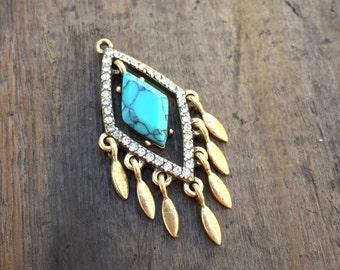 Fringe a'la Fringe Charm - DIY Jewelry
