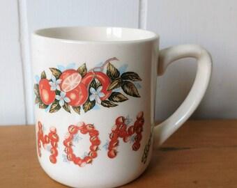 vintage mom souvenir Florida orange mug