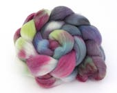 Whitefaced Woodland Wool Hand Dyed Combed Top 100gms - WW04