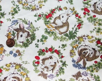 Cute Cotton Fabric - Bunnies
