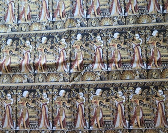 1 Yard Timeless Treasures SPHINX Cotton Fabric Yardage