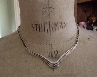 Vendome Vintage Necklace Silver, Vintage Vendome necklace