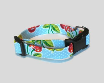 Sweet Cherry Dog Collar XS S M L