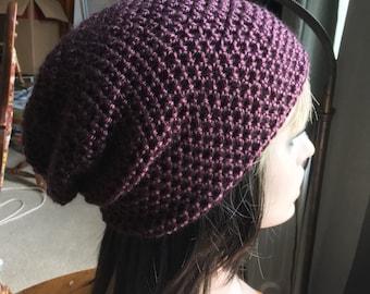 Custom Slouch Hat Beanie His or Hers Crochet Beanie