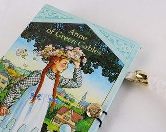 Anne of Green Gables Book Purse - made from recycled vintage book by Rebound Designs