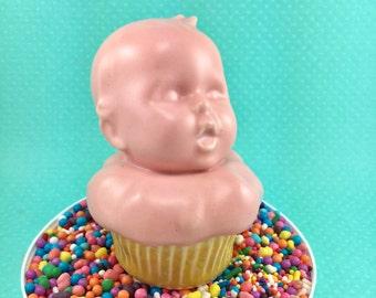 Baby Cupcake handmade ceramic