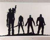 Guardians of the Galaxy inspired vinyl sticker decal car window sticker