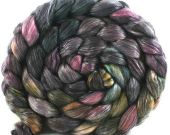 2140 - Superwash Merino Tencel - Hand Dyed Fiber for Spinning
