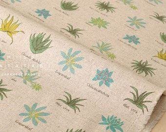 Aloe Linen Fabric Etsy