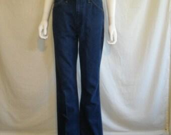 Wrangler Jeans W 30 Waist, 80s 90s High Waisted Blue Denim Vintage Wrangler Wrangler's Mom Jeans