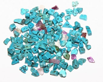 Small Turquoise Chip Beads Jewelry Supply Crafts