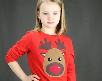 Pattern: Reindeer Applique pdf sewing pattern