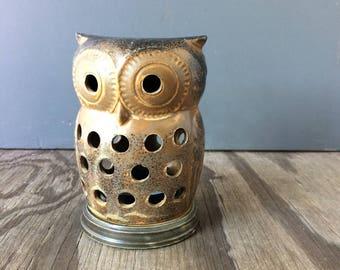 Mid Century Owl Votive Holder by Otagiri - Made in Japan