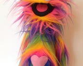 RESERVED - custom rainbow pro monster with heart