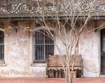 Sorrell-Weed House, Old house photography, Historic Savannah Print, Old Architecture art, Cottage wall Art, Gray Decor, Rustic  Home  Decor