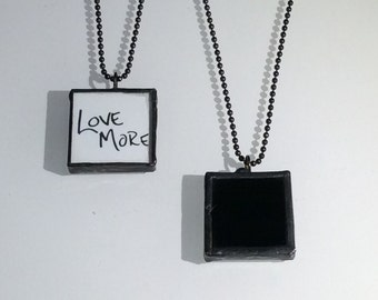 LOVE PENDANT- NYC Photo Pendant, Graffiti Pendant, Valentine's Day