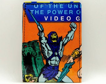 Sewn Comic Book Wallet - He-Man and the Masters of the Universe - Skeletor