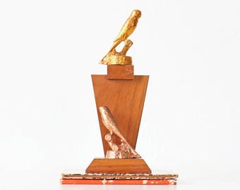 Vintage Bird Trophy