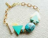 Kaleidoscope Turquoise Bracelet